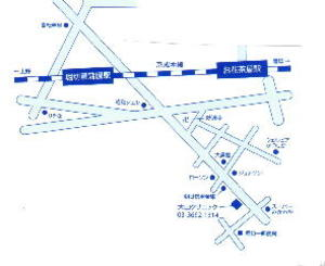 Minamiayaseclinic_map
